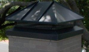 Hip Lid Chimney Cap